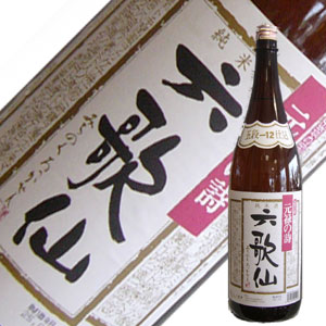 六歌仙 五段仕込み純米酒 1.8L