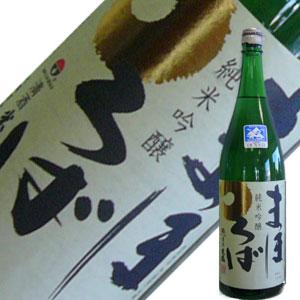 米鶴酒造 米鶴 まほろば純米吟醸1.8L