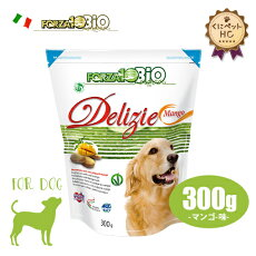 フォルツァ10(FORZA10)犬用ビオオーガニックフルーツビスケットマンゴ味300g