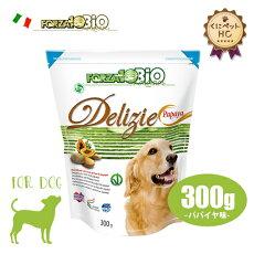 フォルツァ10(FORZA10)犬用ビオオーガニックフルーツビスケットパパイヤ味300g