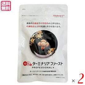 ターミナリアファースト プロフェッショナル プラス 120粒入り 機能性表示食品 2袋セット ダイエット サプリ 糖 送料無料