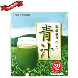 【2000円クーポン】最大31.5倍!世田谷自然食品 乳酸菌が入った青汁 30包 3箱セット