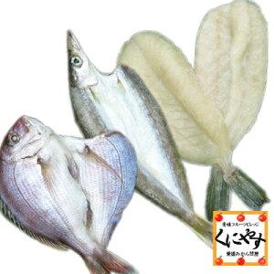 【送料無料】【鮮度抜群CAS冷凍品】【天然魚】宇和海朝獲れ鮮魚の一夜干しお試し3枚セット「カマス・真鯛・フグ」