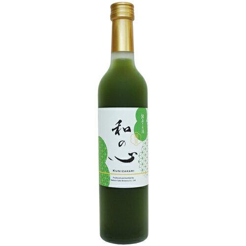 國盛 和の心 抹茶のお酒 500ml