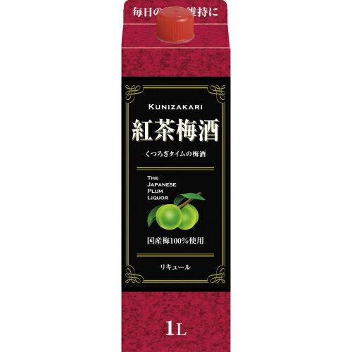 國盛 紅茶梅酒パック 1000ml