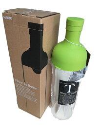 Filter-in bottle ハリオ フィルターインボトル ライムグリーン750ml FIB-75-LG-Y 1883円税別 現在フイルターインボトル最適 緑のほうじ茶サンプルが付いています