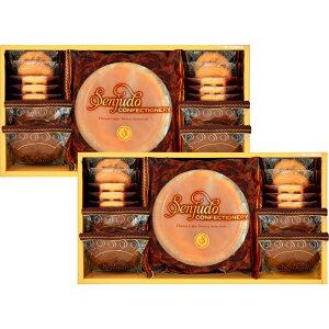 gift 金額で送料変わります Senjudo スイーツセット チーズケーキ クッキー 5000円を3500円税別 SS-50F 内祝 粗供養 ギフト お返し