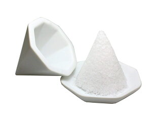 【盛塩セット】 八角盛り塩 セット 素焼き 盛り塩器 八角皿2枚セット 【送料無料】tno-c75