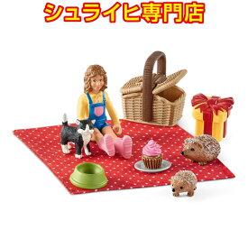 【シュライヒ専門店】シュライヒ お誕生日のピクニック 42426 動物フィギュア ファームワールド FARM WORLD 農場 Farm Animals schleich
