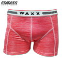 WAXX ワックス ボクサーパンツ CORAIL CHINE 11320