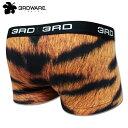3RDWARE サードウェア ローライズボクサーパンツ Tiger Fur 219100302