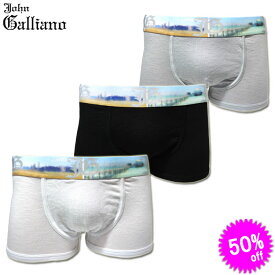 John Galliano ジョンガリアーノ ボクサーパンツ H164L61 Slip Parigamba