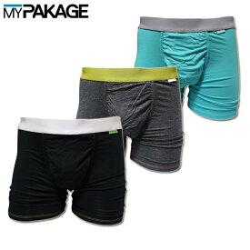 MY PAKAGE マイパッケージ ロングボクサーパンツ WEEKDAY SOLID MPWD_2