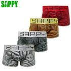 SAPPYサピー/柄ブロック/D-515/ローライズボクサーパンツ【あす楽対応】