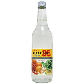メイリ ホワイトリカー 果実酒用 天然水仕込 明利酒類 35度 600ml 瓶