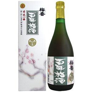 梅香 百年梅酒 明利酒類 14度 720ml【箱入り】