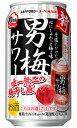 【よりどり2ケースで送料無料】サッポロ 男梅サワー 350ml×24缶 1ケース