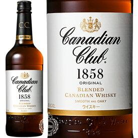 カナディアンクラブ ブレンデッド カナディアンウイスキー 40度 700ml瓶