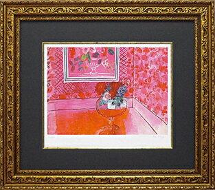 【送料無料】「バラ色の人生」デュフィ(世界の名画・デュフィ・ジグレー版(バラ色の人生)[絵画通販]【絵のある暮らし】【壁掛けフックつき】