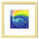 「ねじまきぞうの夢」RYO(りょう)ジグレー版画(可愛らしい動物達をモチーフ)RYO版画作品[絵画通販]ぞう・ゾウ・象・パステル・癒…