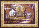 【代引不可・送料無料】「ラスリング リーブス」ビル サンダース 風景画アートポスター[絵画通販]【壁掛けフック付き】【絵のある暮らし】