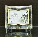 「ゴールデンローズ ガラスフォトフレーム (1ウィンドー・クリア)」   (フォトフレーム 写真たて 写真立て フォトスタンド)…
