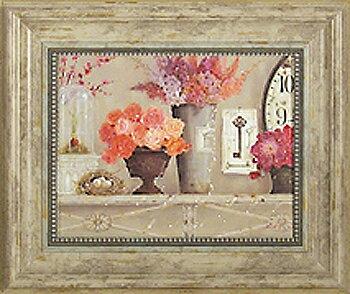 「桜色」キャサリン ホワイト ・花(静物)アートポスター[絵画通販]【壁掛けフック付き】【絵のある暮らし】