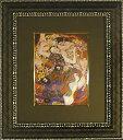 「ザ バージン」クリムト 【通信販売】(世界の名画・クリムトアートポスター[絵画通販])【絵のある暮らし】【壁掛けフックつき】
