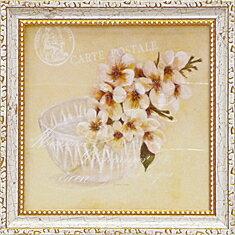 「アップルブロッサム」コレン サラ (花 ・風景画アートポスター)[絵画通販]さくら サクラ 桜の花 絵 絵画【壁掛けフック付き】【絵のある暮らし】