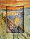 「叫び」ムンク 【通信販売】(世界の名画・ムンクアートポスター[絵画通販])【壁掛けフック付き】【絵のある暮らし】