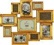 「デコレーション10ウォールフレーム・ゴールド」ラグジュアリー・アンティーク(壁掛けフォトフレーム)(結婚祝い結婚内祝いウエディング)(出産祝い)[フォトフレーム通販]