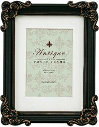 「アンティークスタイルフォトフレームキャビネ・アンティークブラック」ラグジュアリー・アンティーク(フォトフレーム写真たて)(結婚祝いウエディング)(出産祝い出産内祝い)(誕生日プレゼント)