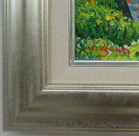 楽天ランキング第2位入賞!!「清水港より富士」羽沢清水(F6サイズ油彩画[油絵]直筆油彩画・日本風景画・富士山[絵画通販])【壁掛けフック付き】【絵のある暮らし】