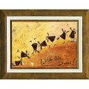 「見て!ドリス!」サムトフト・可愛い雰囲気の特殊ゲル加工アート[絵画通販]【壁掛けフック付き】【絵のある暮らし】