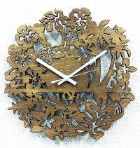 ハワイアン[asian・hawaiian]【掛け時計・ハワイ・プレゼント】[絵画通販]【絵のある暮らし】