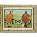 「いつも一緒に…」サムトフト・可愛い雰囲気の特殊ゲル加工アート[絵画通販]【壁掛けフック付き】【絵のある暮らし】