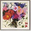 「ブーケ ドゥ プランタン」シャーリー ノヴァック (花 ・風景画アートポスター)[絵画通販]【壁掛けフック付き】【絵のある暮ら…
