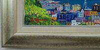 【送料無料】楽天ランキング第2位入賞!!「清水港より富士」羽沢清水(F6サイズ油彩画[油絵]直筆油彩画・日本風景画・富士山[絵画通販])【壁掛けフック付き】【絵のある暮らし】