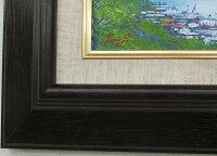 「尾道旅情」辻京子【通信販売】(サムホールサイズ油彩画[油絵]・日本風景画・広島県尾道市[絵画通販]【壁掛けフック付き】【絵のある暮らし】