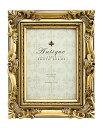 「アンティークスタイルフォトフレーム キャビネ・ゴールド 」ラグジュアリー・アンティーク  (フォトフレーム 写真たて 写真立て…