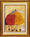 「ハグしよう」サムトフト・可愛い雰囲気の特殊ゲル加工アート[絵画通販]【壁掛けフック付き】【絵のある暮らし】