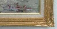 「薔薇」渡部ひできF20サイズ油彩画[油絵](直筆油彩画)静物画・御祝・お祝い・就任・バラ[絵画通販])【壁掛けフック付き】【絵のある暮らし】