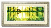 「湖畔を駈ける」楽天ランキング1位獲得作品藤谷壮仁郎(Soujirou)ジークレー版画作品(WAシリーズ・和TASTE)(絵画通販)【壁掛けフック付き】【絵のある暮らし】