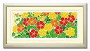 「輝く金蓮花」藤谷壮仁郎(Soujirou)ジークレー版画作品(FWシリーズ・FLOWER ART)(絵画通販)【壁掛けフック付き】【絵のある暮らし…