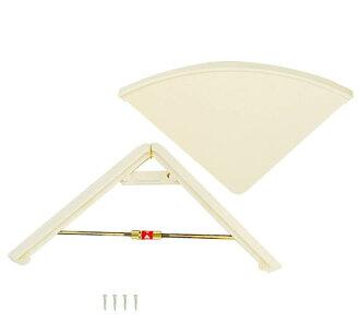 Thrust triangle shelf ivory AP -045W
