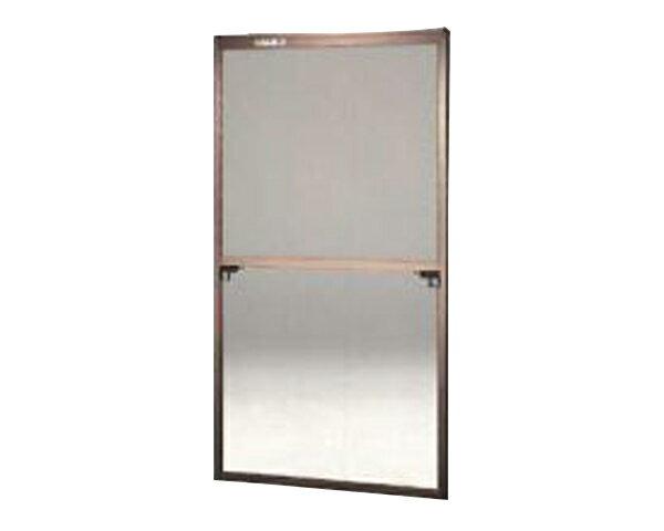窓用サッシ網戸/フリーサイズ網戸【セイキ販売】60-120型 ブロンズサイズ:H1780〜1813ミリ×W875〜895ミリ用