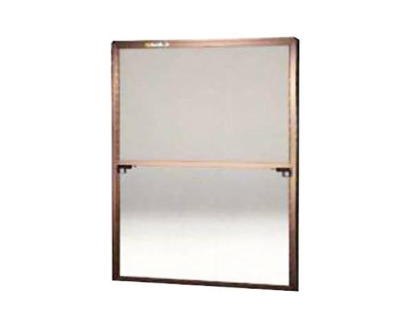 窓用サッシ網戸/フリーサイズ網戸【セイキ販売】60-92型 ブロンズサイズ:H1780〜1813ミリ×W1295〜1315ミリ用