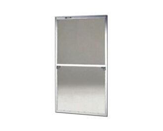 供窗使用的框格纱门/均一尺码纱门62-120S型银子尺寸: H1840~1873毫米×W925~945毫米供使用