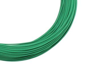 カラー針金 #18 (約1.2mm) 72m 緑 1巻【ユタカ産業】