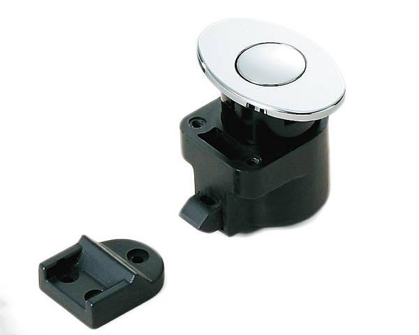 ランプ印デザインプッシュラッチ DPL−OV−CR【スガツネ工業】